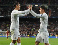 El partido Real Madrid-Roma de Champions, la emisión más vista del año con 6 millones (32%)