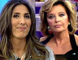Paz Padilla contesta a los rumores sobre su mala relación con María Teresa Campos