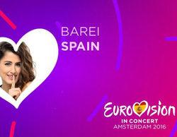 Barei confirma su presencia al 'Eurovision in Concert' celebrado en Ámsterdam