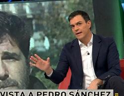 El zasca que se llevó Pedro Sánchez con la pregunta de Gonzo en 'laSexta noche'