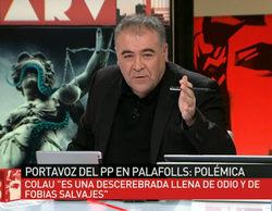García Ferreras responde al edil del PP que criticó a laSexta