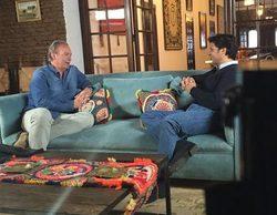 Bertín Osborne graba ya para Telecinco 'Mi casa es la tuya' junto al torero Fran Rivera