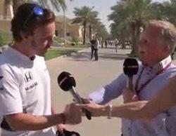 La cortante respuesta que Fernando Alonso dedicó a un comentarista crítico con él