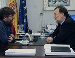 """Mariano Rajoy equipara a Évole con Iglesias y entona el """"mea culpa"""" por los SMS a Bárcenas"""