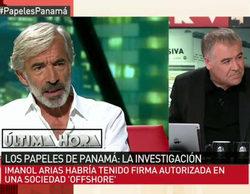 """'Al rojo vivo' destapa la supuesta implicación de Imanol Arias en los """"Papeles de Panamá"""""""