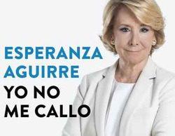 """Esperanza Aguirre arremete contra 'laSexta noche' en su libro """"Yo no me callo"""""""