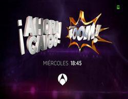 Arturo Valls presentará '¡Boom!' y Juanra Bonet se pondrá al frente de '¡Ahora caigo!' este miércoles 13 de abril
