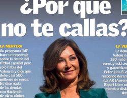 """El Valencia CF responde duramente a Ana Rosa Quintana: """"La AR (Ausencia de Rigor) tiene cura: el mando a distancia"""""""