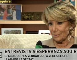 """Esperanza Aguirre, en 'laSexta noche': """"Ustedes son """"la secta"""" por promocionar a Podemos y su ideología criminal"""""""