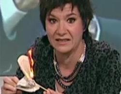 """TV3 muestra su """"apoyo"""" a la periodista que quemó la Constitución y solicita un aumento de 26 millones en el presupuesto anual"""