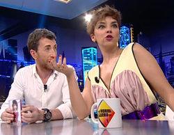 Chenoa muestra en 'El hormiguero' el grupo de Whatsapp con sus compañeros de 'Operación triunfo'