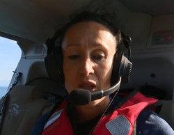 'Supervivientes' prohíbe a Dulce saltar del helicóptero y ella hace caso omiso