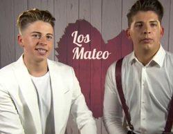 Los hermanos Mateo ('QQCCMH') visitan 'First Dates' provocando la indignación de un participante