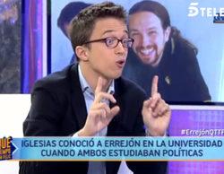 Errejón ('¡Qué tiempo tan feliz!') le confiesa a María Teresa Campos cómo conoció a Pablo Iglesias