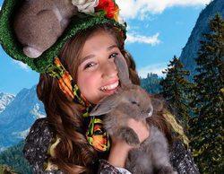"""Heidi, protagonista de la telenovela juvenil 'Heidi, bienvenida a casa' y de la película """"Heidi, la reina de las montañas"""""""