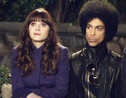 Zooey Deschanel confiesa que Prince vetó a las Kardashian en su episodio de 'New Girl'