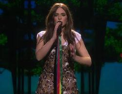 Francesca Michielin celebra en Eurovisión 2016 la ley de unión homosexual en Italia