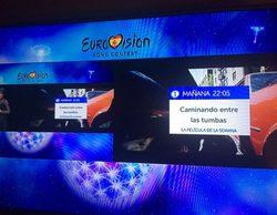 TVE corta el directo de Eurovisión 2016 con un fractal de publicidad