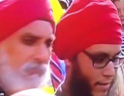 """Sky Sports emite la imagen de personas con turbante para hablar del """"paquete bomba"""" de Old Trafford"""