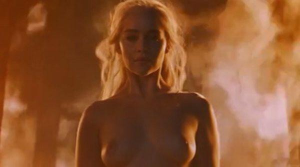 Emilia Clarke Daenerys Targaryen No Uso Dobles En Mis Desnudos