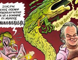 """El Jueves se mofa del encuentro entre Bertín y Aguirre: """"Han creado al facha definitivo"""""""