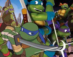 'Las Tortugas Ninja' viajan a los 80 para conocer a sus versiones en 2D  este viernes 27 de mayo en Nickelodeon