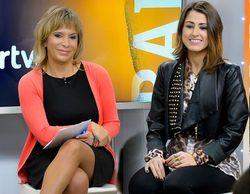 """Barei: """"No hay ningún régimen dictatorial en RTVE y Toñi Prieto siempre está dispuesta a ayudar"""""""