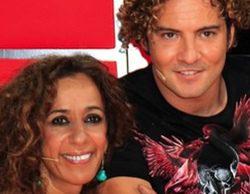 David Bisbal y Rosario Flores, coaches de 'La Voz Kids 3'