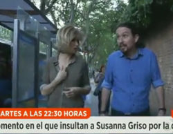 "Insultan a Susanna Griso durante su entrevista a Iglesias: ""Fascista, hija de puta"""