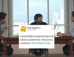 """La FNAC revoluciona Twitter por tildar de """"mediocre"""" a Podemos durante el debate de 'Salvados'"""