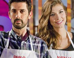 Pablo y Natalia, nuevos expulsados de la cuarta edición de 'MasterChef'
