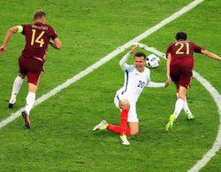 El partido entre Inglaterra y Rusia, líder absoluto de la noche con un increíble 28,4%