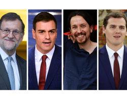 Así hemos vivido en directo el único debate a cuatro entre los líderes de los grandes partidos