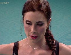 Pilar Rubio, como una superviviente más realizando la prueba de la apnea en 'El hormiguero'