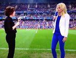 """Una presentadora de TV francesa se """"teletransporta"""" desde el plató al campo"""