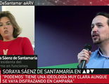 """Soraya entra en campaña ('Al rojo vivo'): """"Podemos quiere controlar los medios de comunicación"""""""
