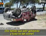 El calvario de Jesús Quintero continúa: sufre un espectacular accidente de tráfico