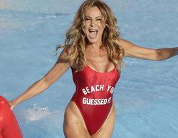 Ana Obregón emula a Pamela Anderson en 'Los vigilantes de la playa' en su posado de verano