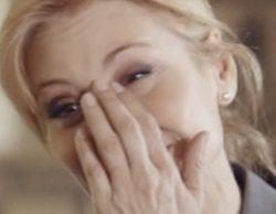 Teresa Viejo no puede contener las lágrimas y rompe a llorar en el estreno de 'Dime qué fue de ti'