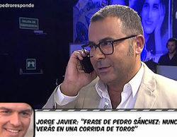 Jorge Javier Vázquez confiesa su traición: votó a PACMA en lugar de al PSOE