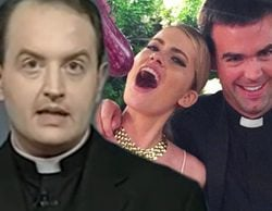 """El Padre Apeles sale en defensa de Adriana Abenia: """"Me parece ridículo que alguien se escandalice por esa foto con el cura"""""""