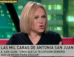 """Antonia San Juan carga contra los programas del corazón y los realities: """"Venden el morbo y la descalificación"""""""
