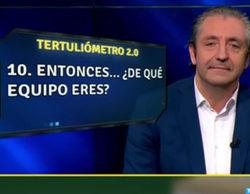 Josep Pedrerol ('El chiringuito') confiesa de qué equipo es y le lanza un dardo a Juan Carlos Rivero