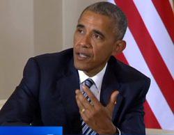 TVE envuelta en una nueva polémica: La manipulación de los rótulos en la entrevista con Obama