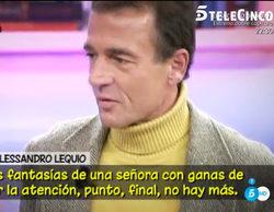"""Alessandro Lequio desmiente su aventura con Hormigos y asegura que es pura """"fantasía"""""""