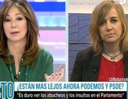 Ana Rosa Quintana interrumpe sus vacaciones para cubrir el inicio de legislatura