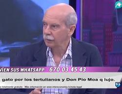 Pío Moa justifica el golpe militar franquista de 1936 y califica a Manuel Azaña de golpista en el plató de Intereconomía