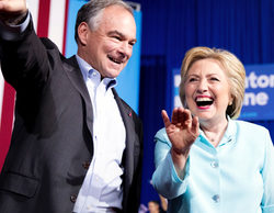 La Convención Nacional Demócrata arranca igualando los datos de la Republicana
