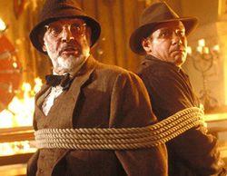 """""""Indiana Jones y la última cruzada"""" (15,6%) baja en Antena 3 pero mantiene el liderazgo frente a 'El secreto de Adam' (9,1%)"""