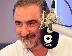 """Carlos Herrera defiende a su exmujer, Mariló Montero, tras los """"azotes"""" de Pablo Iglesias"""